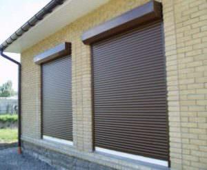 Изготовление защитных роллет на окна