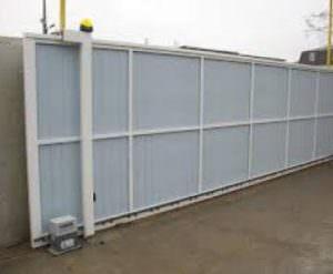 Промышленные откатные ворота для обустройства промышленных предприятий