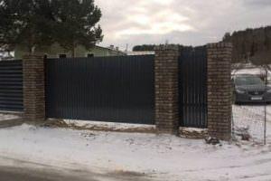 Индивидуальные модели въездных ворот